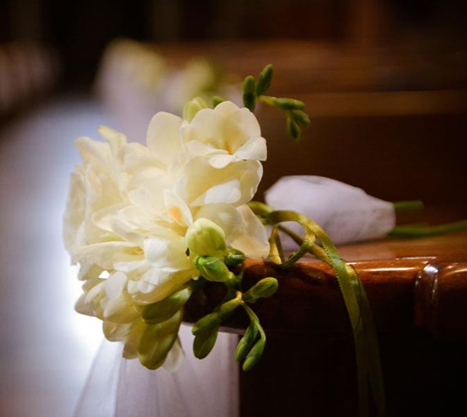allestimento matrimonio duomo di chieri
