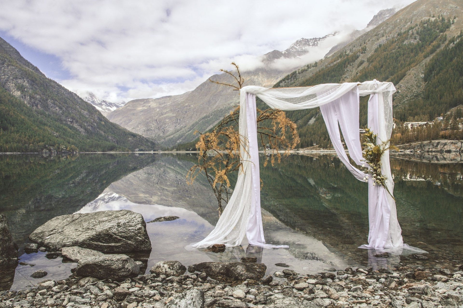 arco sposi lago ceresole