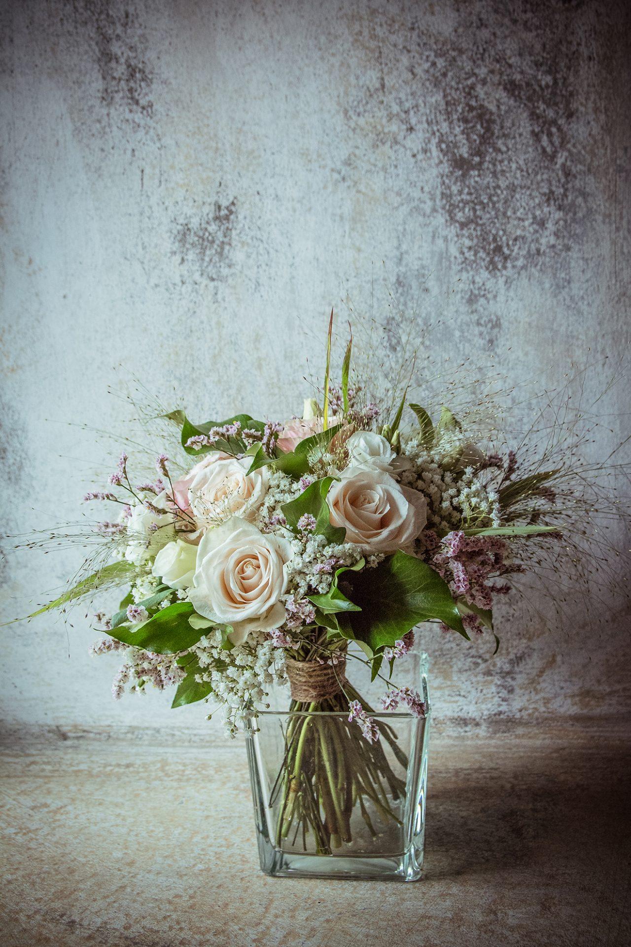bouquet da sposa shabby chic