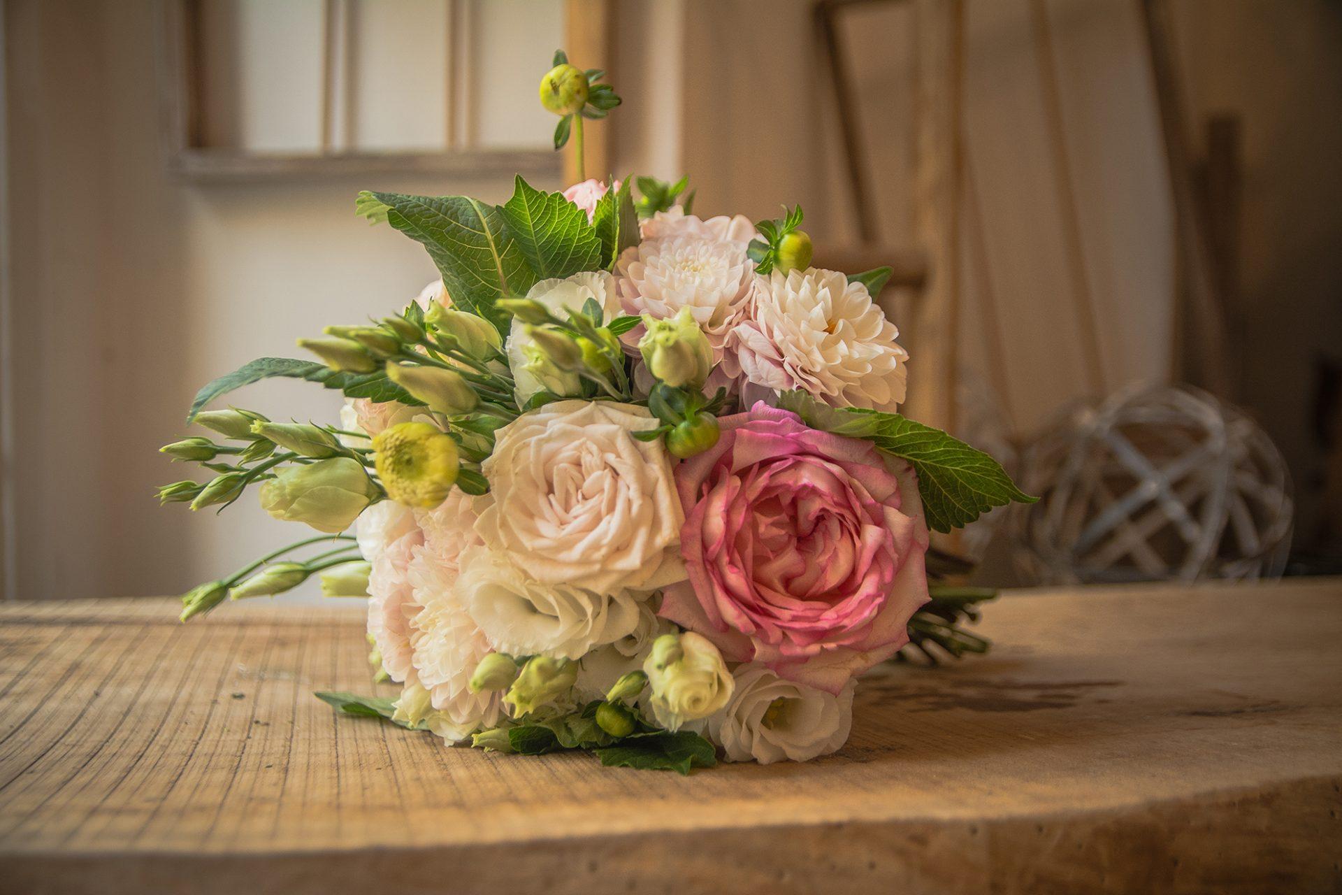 bouquet in stile romantico