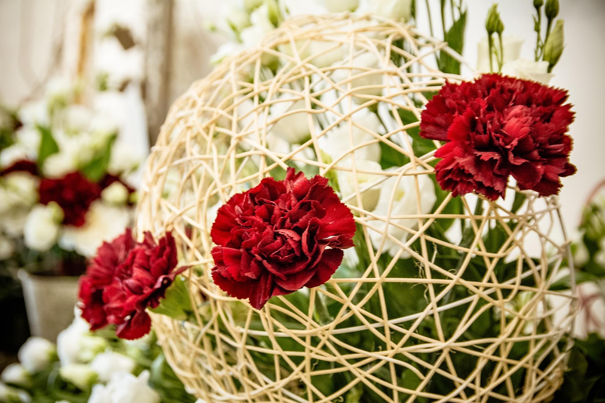 floral design wedding torino